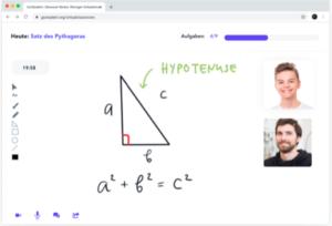 GoStudent Screenshot virtueller Klassenraum