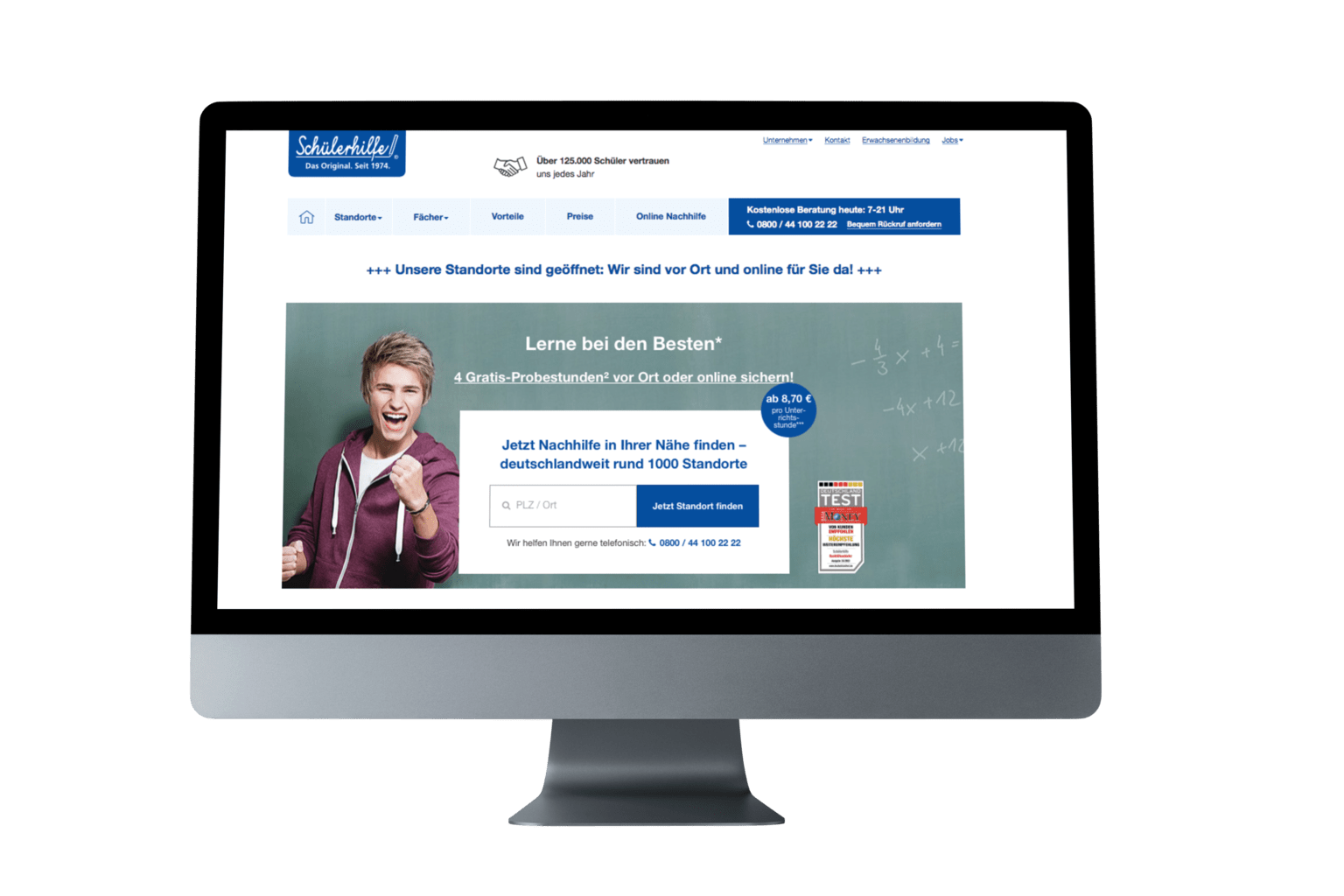 Schülerhilfe Online Lerncenter PC