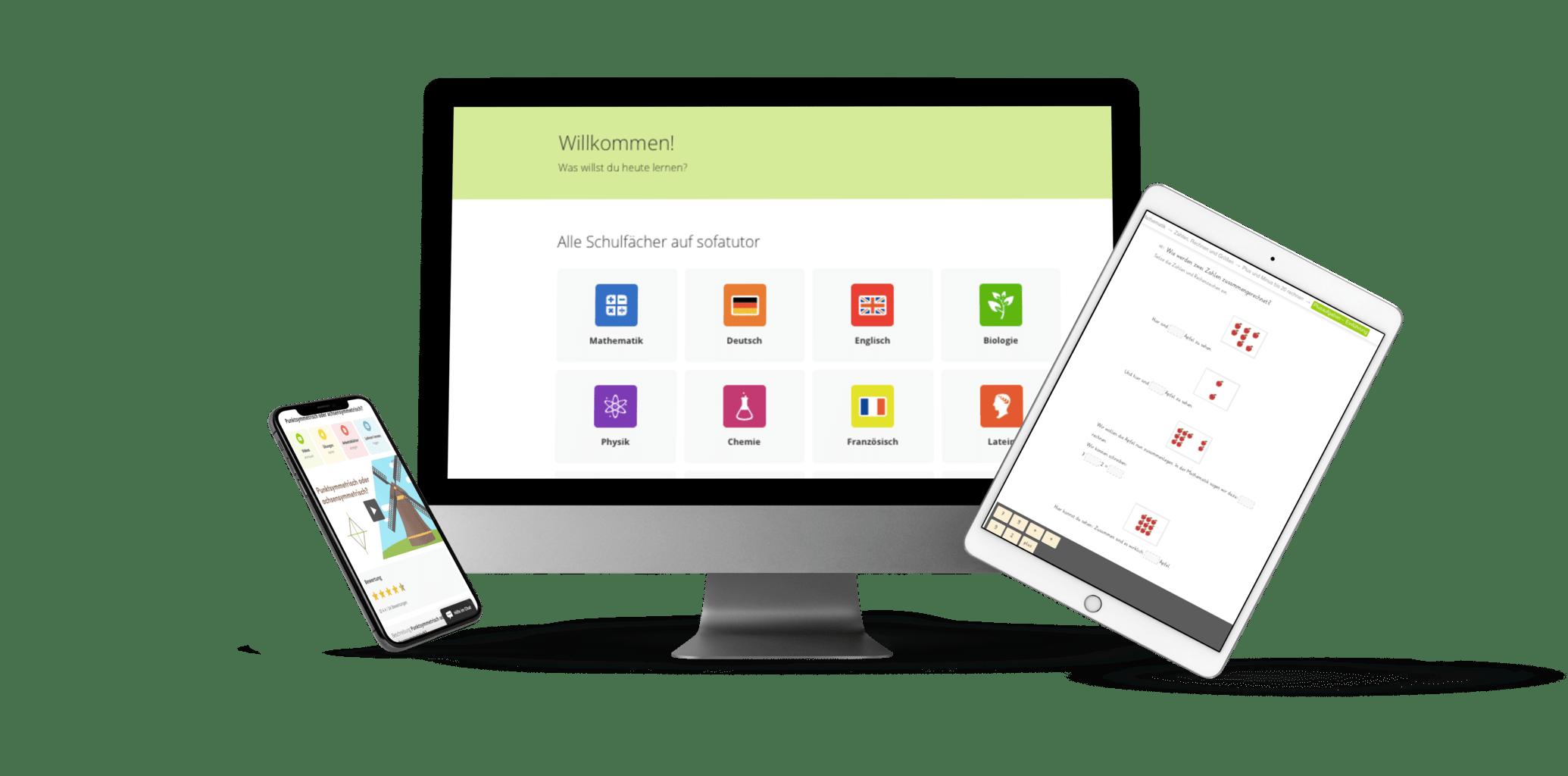 Darstellung App kompatibel Sofatutor